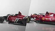 Aeroscreen de IndyCar frente al Halo de la F1