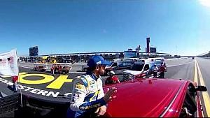 360 Chase Elliott driver intro truck lap