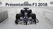 Présentations F1 2018 - Red Bull