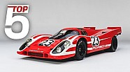 Porsche top 5 - most iconic motorsport models with Derek Bell