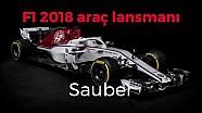 F1 2018 - Alfa Romeo Sauber C37 lansmanı