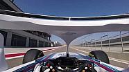 """威廉姆斯:罗伯特·库比卡首次驾驶""""光环""""版F1赛车"""