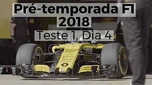 Pré-temporada F1 2018 - Teste 1, Dia 4