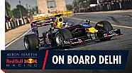Caméra embarquée avec Daniel Ricciardo à Delhi
