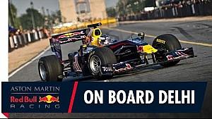 Delhi: Onboard mit Ricciardo