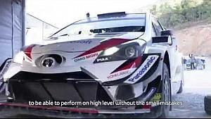Toyota en tests avant le Mexique