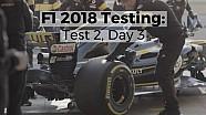 F1 2018 Testing: Test 2, Day 3