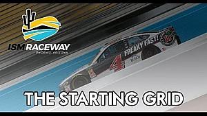 The starting grid: ISM raceway