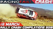 Rally crash compilation week 11 March 2018