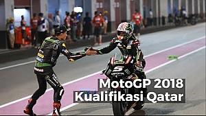Highlights Kualifikasi Qatar - MotoGP 2018