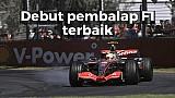 Debut pembalap F1 terbaik