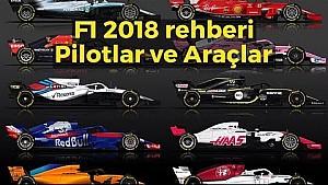 F1 2018 - Pilotlar ve araçlar