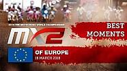 Los mejores momentos de MX2 en el MXGP de Europa 2018