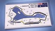 Streckenvorschau: Albert Park, Melbourne