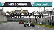 Resumen de la clasificación del GP de Australia de F1 2018 ESP