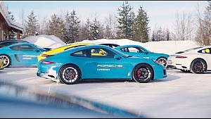 30 years of all-wheel drive in the 911 – Porsche ice experience