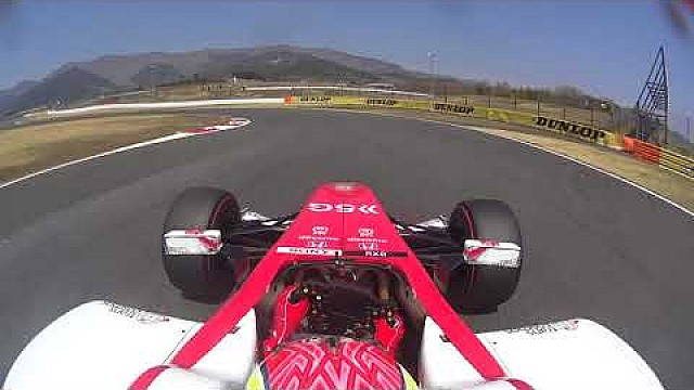 SUPER FORMULA TEST Day2 AM Onboard_Fuji Speedway