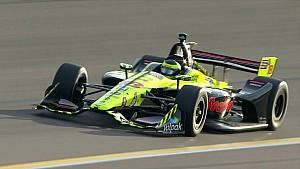 Hoogtepunten kwalificatie IndyCar Phoenix