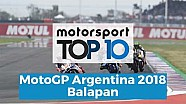 Top 10 Highlights balapan | MotoGP Argentina 2018