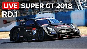 2018 Super GT full race - round 1 - Okayama