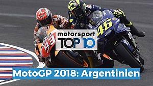 Top 10: MotoGP Argentinien