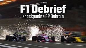 F1 Debrief: Knackpunkte GP Bahrain