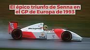 Racing Stories: el épico triunfo de Senna en el GP de Europa 1993