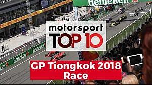 Top 10 Highlights Balapan |  GP Tiongkok 2018