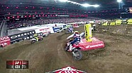 Vince Friese triple crown main event #1 2018 Monster Energy Supercross from Minneapolis