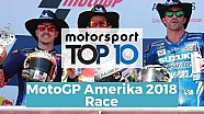 Top 10 Highlights Race | MotoGP Amerika 2018