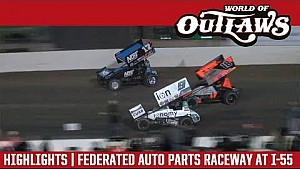 World of Outlaws Craftsman sprint cars Federated auto parts raceway April 21, 2018 | Highlights