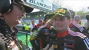 Blancpain GT Endurance Cup - Dries Vanthoor Race Reaction