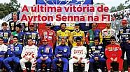 A última vitória de Ayrton Senna na F1