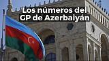 Los números del GP de Azerbaiyán de F1 ESP