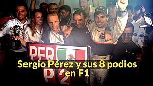 Racing Stories: los 8 podios de Sergio Pérez en F1