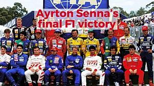 Ayrton Senna's Final F1 Victory