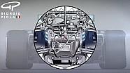 Mercedes W09 ön süspansiyonu