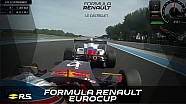 Formula Renault Eurocup - round 1 - race 1 - Paul Ricard - onboards