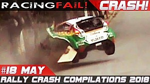 Racing and rally crash compilation week 18 May 2018
