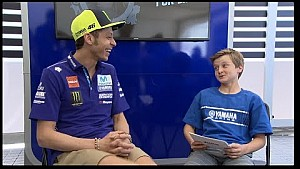 Hayes Edwards interviews Maverick Viñales and Valentino Rossi for 'Motorcycles for life'
