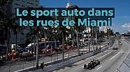 Le sport auto dans les rues de Miami