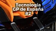 Motorsport Shorts: tecnología en los monoplazas para el GP de España 2