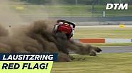 René Rast goes flips - DTM Lausitzring