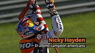 Nicky Hayden, el último campeón americano