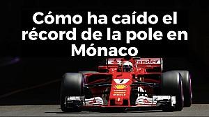 Cómo ha evolucionado el récord de la pole en Mónaco ESP