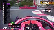 Un tour embarqué avec Vettel à Monaco