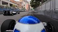 Keke et Nico Rosberg ont roulé ensemble à Monaco
