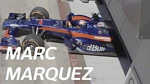 Marc Marquez F1 test - Spielberg