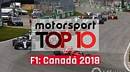 VÍDEO: Top 10 GP do Canadá