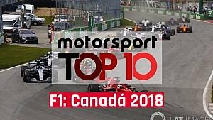 VÍDEO: Top 10 GP do Canadá